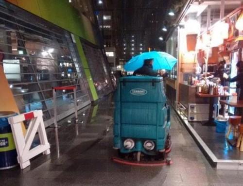 Lekkage Markthallen Rotterdam